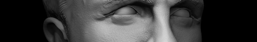 Daniel Craig - 3D Celebrity Bust