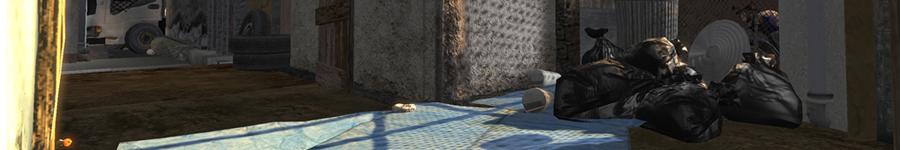 Favela Alleyway - 3D Environment